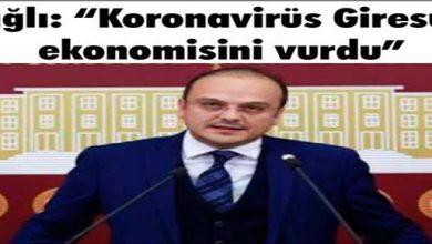 Photo of Koronavirüs Giresun Ekonomisini Vurdu